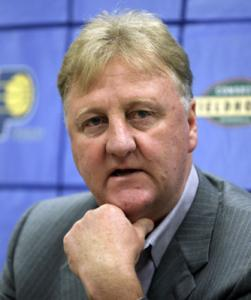 LARRY BIRD Readying two for college