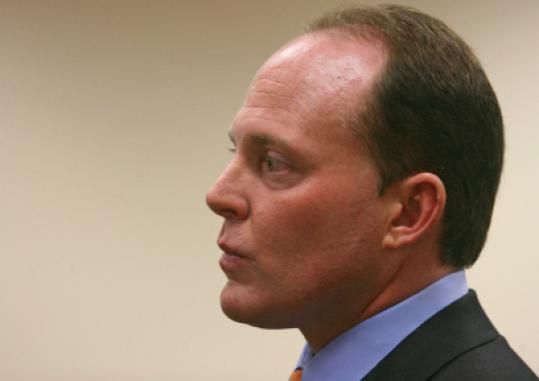 Senator Anthony Galluccio appeared in court on Friday.