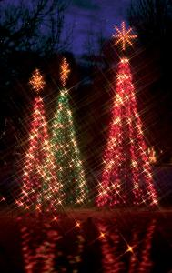 Holidays light up during Bright Nights in Forest Park.