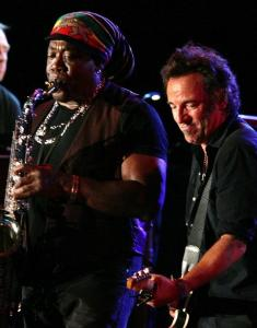 "Bruce Springsteen wrote about his friendship with Clarence Clemons in the foreword of ""Big Man: Real Life & Tall Tales.''"