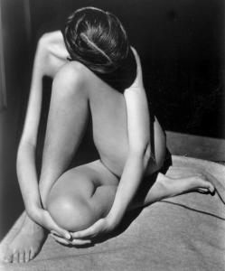 Nude , 1936 (Photograph by Edward Weston) Photo courtesy of the Collection Center for Creative Photography &#169;1981 Arizona Board of Regents