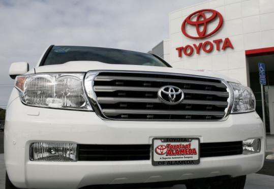 Toyota&#8217;s recall is the sixth-largest ever in the United States. For more information, contact Toyota at 800-331-4331.