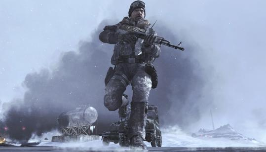A scene from 'Call of Duty: Modern Warfare 2.'