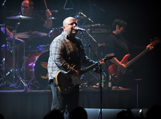 The Pixies played the first of two sold-out gigs at Citi Wang Theatre.