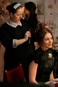 Zuzanna Szadkowski (left) shares a scene with Leighton Meester.