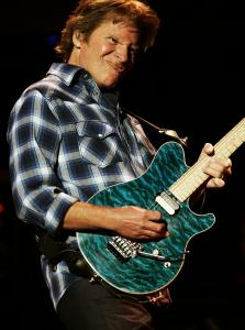 John Fogerty (pictured in 2007) got the crowd into it with a blast of Creedence Clearwater Revival songs. He is touring behind a new album of country covers.
