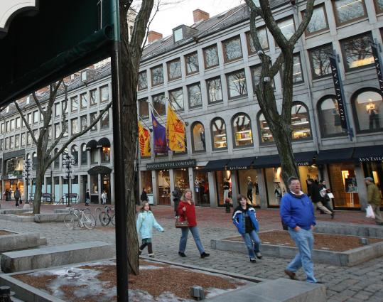 The restructuring plan could hinder merchants' efforts to buy the lease at Faneuil Hall Marketplace.