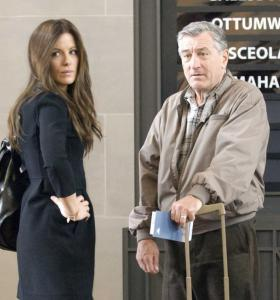 "Kate Beckinsale and Robert De Niro in ""Everybody's Fine.''"