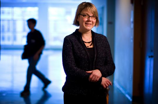 Heading the effort is MIT's Linda Griffith, who had endometriosis.