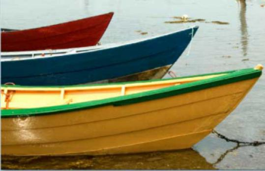 Nancy Rich photographed wooden boats for her book.
