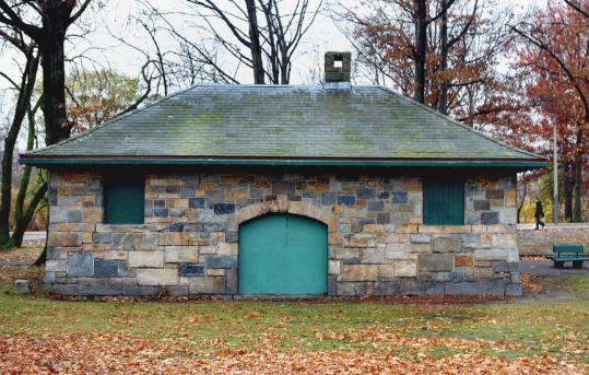 "The Duck House in the Fens was built about 1897. Designed by architect Alexander M. Longfellow, it was constructed as a ""shelter house.''"