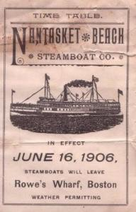 By the early 1900s, a fleet of steamboats carried tourists from Boston to Hull's lively hotel scene.