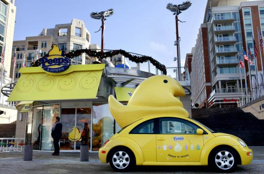 a monument to the marshmallow peep store near d c is talk of the town the boston globe. Black Bedroom Furniture Sets. Home Design Ideas