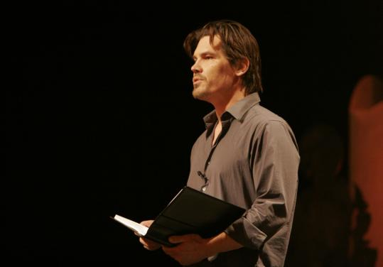 "Josh Brolin reads from Dalton Trumbo's 1939 antiwar novel, ""Johnny Got His Gun,'' in the documentary ""The People Speak.'' The program is based on books by historian Howard Zinn (below)."