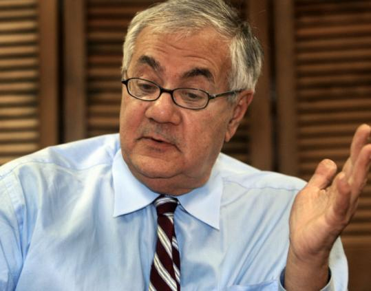 Representative Barney Frank hopes to draft a bill to regulate and collect taxes from legal online gambling.