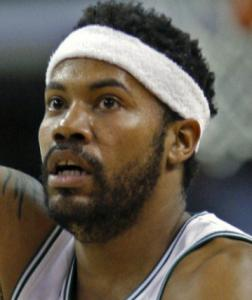 RASHEED WALLACE Noted presence off bench