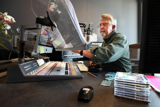 Ray Brown on the air at WCRB-FM (99.5), which was purchased by WGBH this fall. There is now significantly less classical music on the airwaves.