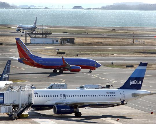 "The ""Southwest effect'' is changing the game at Logan: Its arrival prompted fare wars with JetBlue and others. Virgin America, Sun Country Airlines, and Porter Airlines also came to Boston this year."