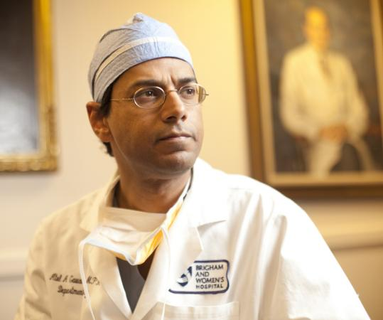 Dr. Atul Gawande, the author of three books, finds time to write during the downtime between surgeries.
