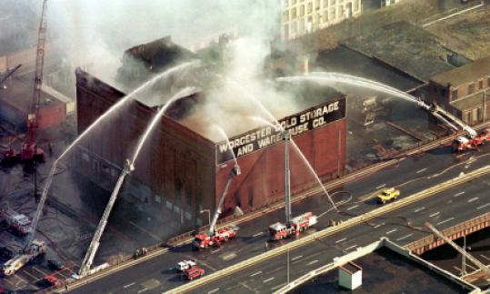 Six firefighters died battling this blaze in Worcester in 1999.