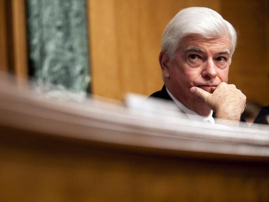 """I laid down a bill that is as much a reflection of where I am on this as to plant a flag. I did what I wanted to do,'' said Senator Christopher Dodd, Democrat of Connecticut, of his proposal."