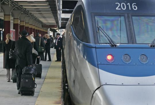 Amtrak has not yet met the 1970s goal of cutting Boston-New York travel time to three hours.