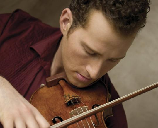 Nikolaj Znaider (above) will perform Elgar's Violin Concerto playing the very violin that the great Fritz Kreisler used when he premiered the piece 100 years ago.