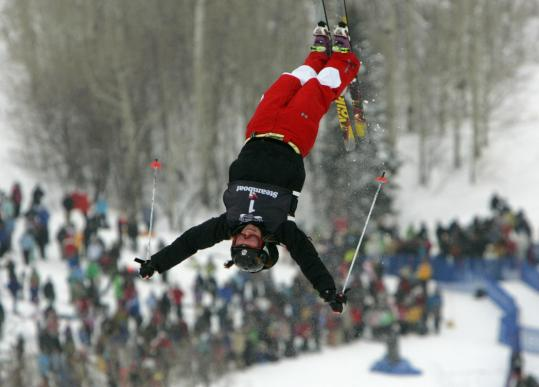 Hannah Kearney won in Steamboat Springs, Colo., in December.