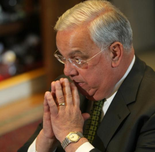 Thomas M. Menino will begin his fifth term tomorrow.