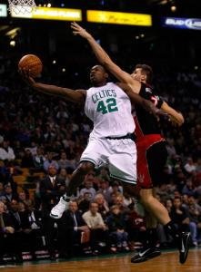 Celtics guard Tony Allen scored 14 points while playing a team-high 35 minutes 39 seconds.