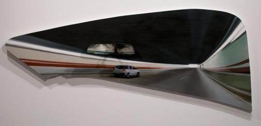 "Hannah Cole's ""Tunnel Vision'' (above) is on exhibit at Laconia Gallery."