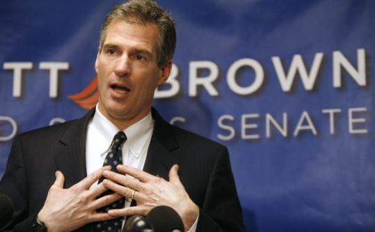"""I don't support torture; the United States does not support torture,'' state Senator Scott Brown told reporters yesterday."