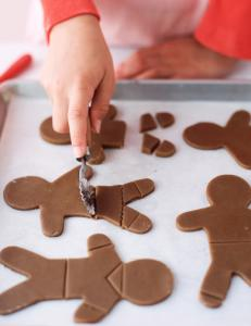 If you'd like to send home-baked cookies overseas, gingerbread men work well because of their durability.