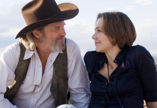 Bad Blake (Jeff Bridges) is a famous singer who has hit bottom and Jean (Maggie Gyllenhaal) is a reporter and single mom with a weakness for sexy screw-ups.