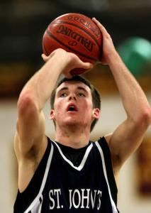 Patrick Connaughton, a 6-foot-4 junior, is averaging 23 points and 17 rebounds a game this season for St. John's Prep, which won its first six games.