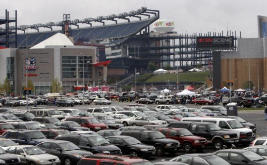 A spokesman for Gillette Stadium said the Boston-area vendor responsible for hiring the workers was terminated.