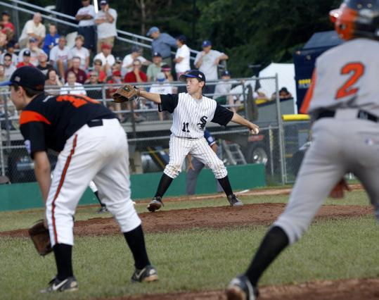 Massachusetts Parkway National Team went up against Shelton, Conn., in the 2008 Eastern Regional Little League Tournament in Bristol, Conn. The Parkway Little League is awash in controversy, with disputes that have dragged on for months.