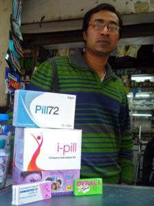 There are few limits on the sale of the I-pill, which is available at Kamal Jain&#8217;s store in New Delhi.