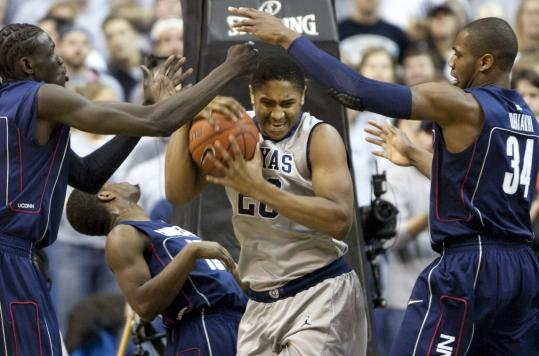 No matter how hard UConn tried, Jerrelle Benimon and Georgetown kept fighting off defeat.