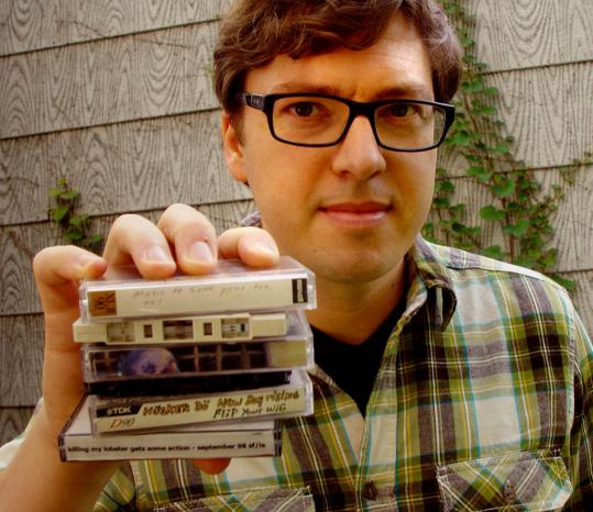 """""""It's such a simple concept: good mix-tapes from people who were into you,'' says Jason Bitner of """"Cassette From My Ex,'' which details stories behind those romantic souvenirs."""