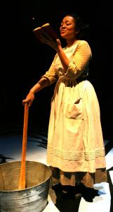 "Kami Rushell Smith stars as the title character in ""Harriet Jacobs,'' at Central Square Theater."
