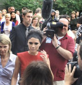 Guest judge Victoria Beckham made her way into the State Street studio in August for auditions for last night&#8217;s season-opener of &#8220;American Idol.&#8217;&#8217;