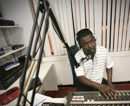 Jean Filias's radio show for the Haitian community was inundated by callers looking for information after the quake.