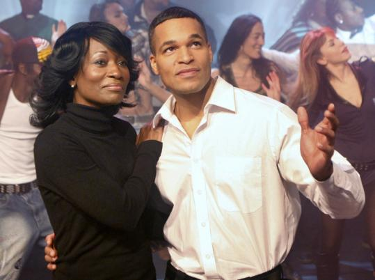 """Jimmy Wilson and Della Miles rehearsed yesterday for """"Hope - the Obama Musical Story'' in Germany."""
