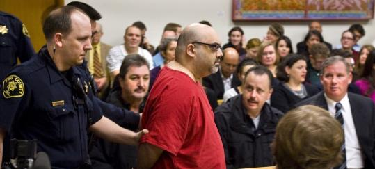 """I am not a man filled with hate,'' Naveed Haq told a Seattle court as he was sentenced for a 2006 shooting rampage."