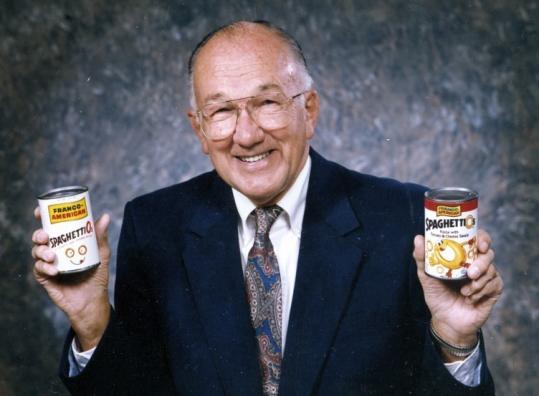 Donald Goerke, who had a big hand in the development of SpaghettiOs, also created Campbell's Chunky soup line.
