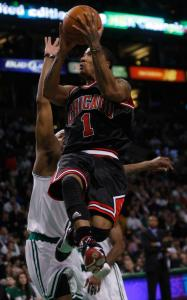 Derrick Rose and the Bulls had a more spring in their step than the Celtics.