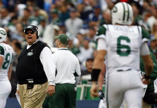 He's loud and arrogant but the Jets believe in coach Rex Ryan as they close in on the Super Bowl.