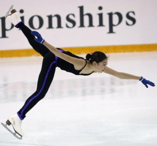 Young Mirai Nagasu had better be on her toes at this week's US Championships, because the competition could be stiff.