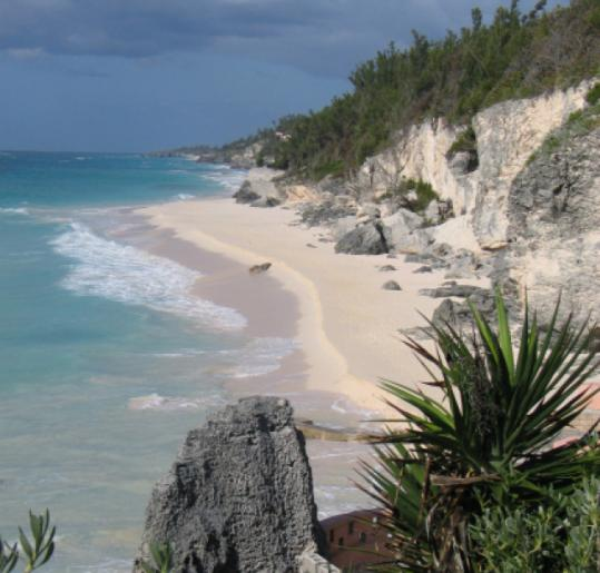 Surf Side Beach is on Bermuda's South Shore.